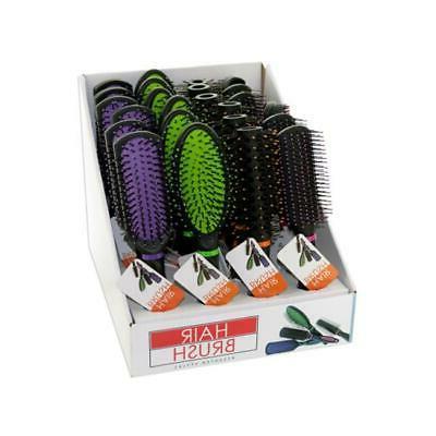 od842 24 stylish hair brush countertop display