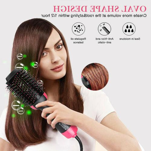 One Step Dryer Salon Collection Styler And Brush Hair Comb