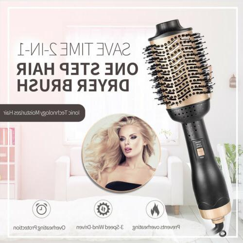 One-Step & Volumizer Ionic Technology Hair Curler Straightener