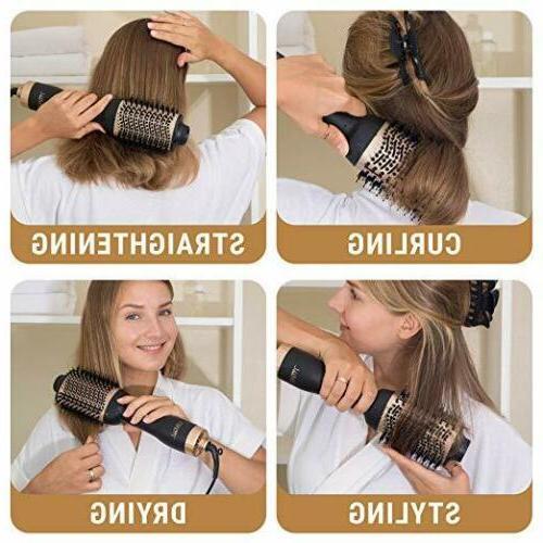 One-Step Hair Brush & Ionic Hair Curler