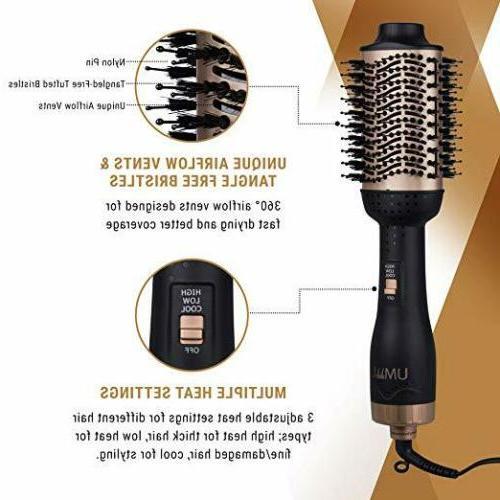 One-Step Hair Brush & Volumizer Hair Straightener