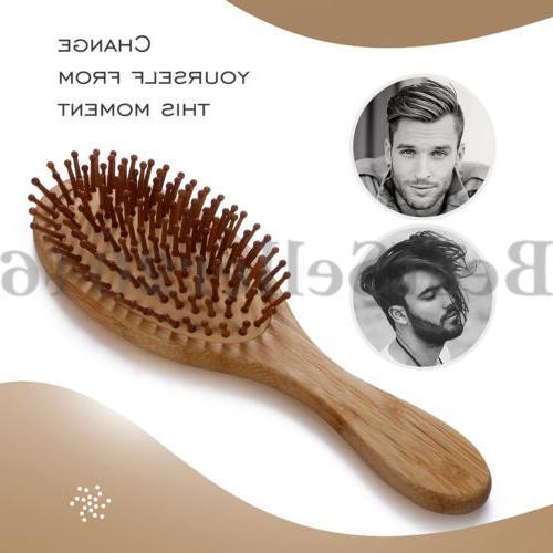 Organic Bamboo Brush Air Comb
