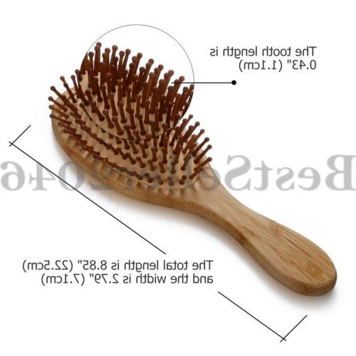 Organic Bamboo Brush Comb Air