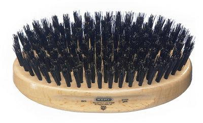 Kent Oval Pure Bristle Hair Brush MG2