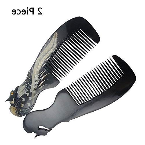 ox horn hair comb