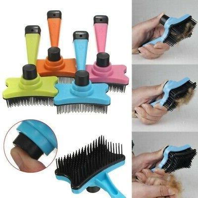 Pet Short Hair Remove Grooming Comb Brush US
