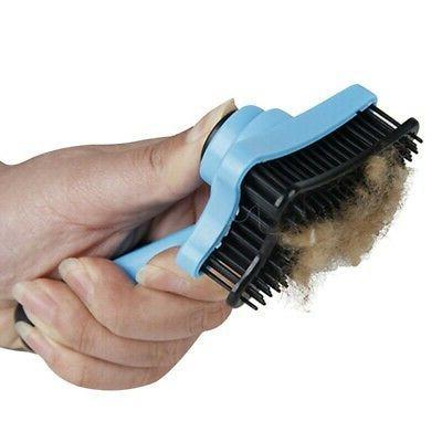 Short Hair Remove Grooming Rake Brush US