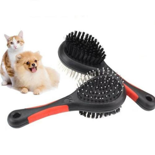 pet grooming brush short and long hair