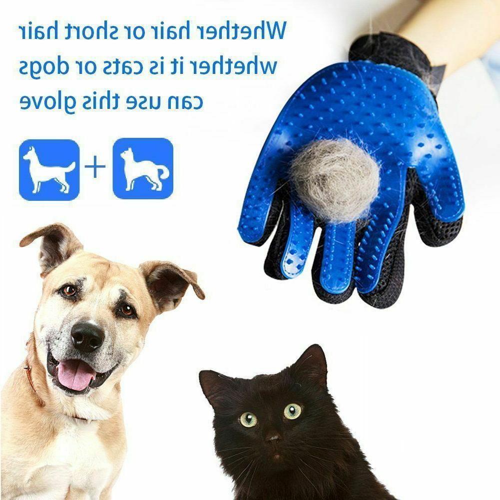 Pet Glove Brush Fur Removal Deshedding Massage