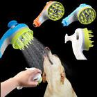 pet shower sprayer dog massage head hair