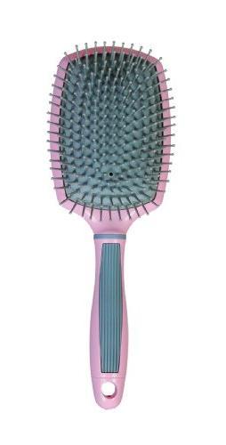 pink paddle brush