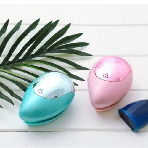Portable Electric Takeout Mini Brush Comb