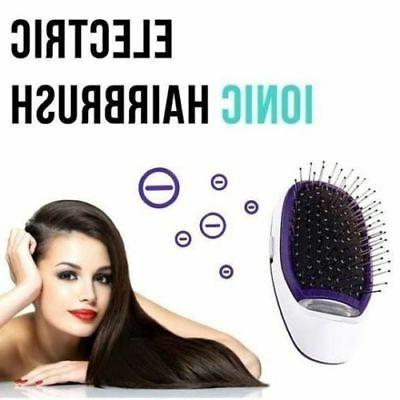 Portable Electric Ionic Brush Takeout Styling