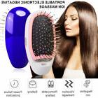 portable electric ionic hair brush takeout styling