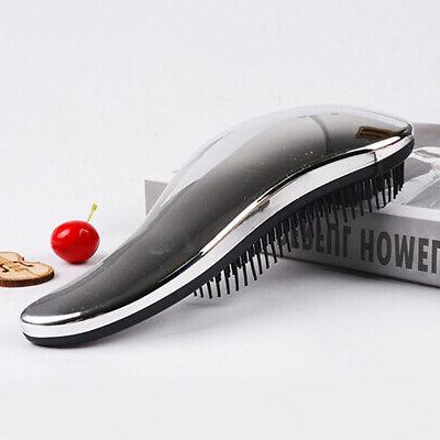 Portable Brush Comb Takeout Ion Massage Straightener