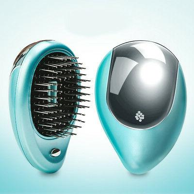 Portable Ionic Takeout Mini Small Hair Brush Comb