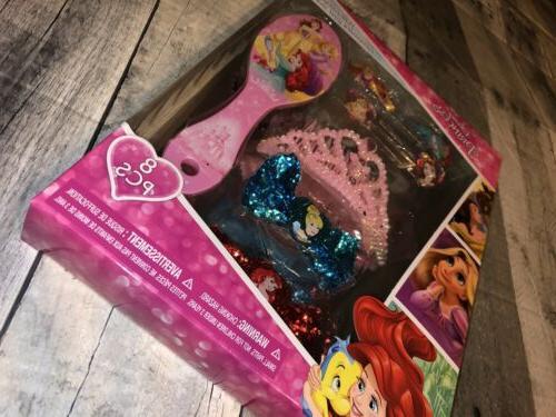 Disney Princess Hair Set, Count NEW
