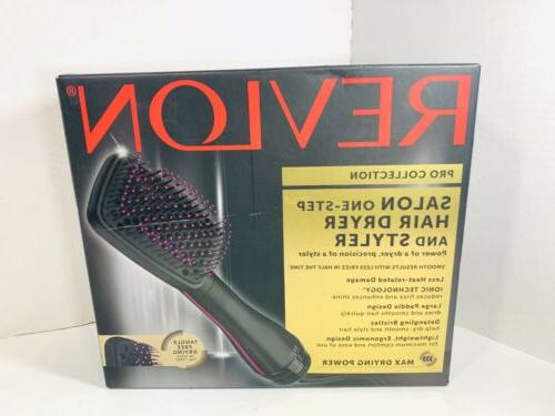 pro collection one step hair dryer styler