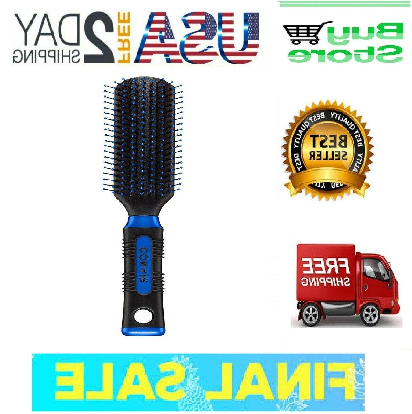 pro hair brush with nylon bristle all