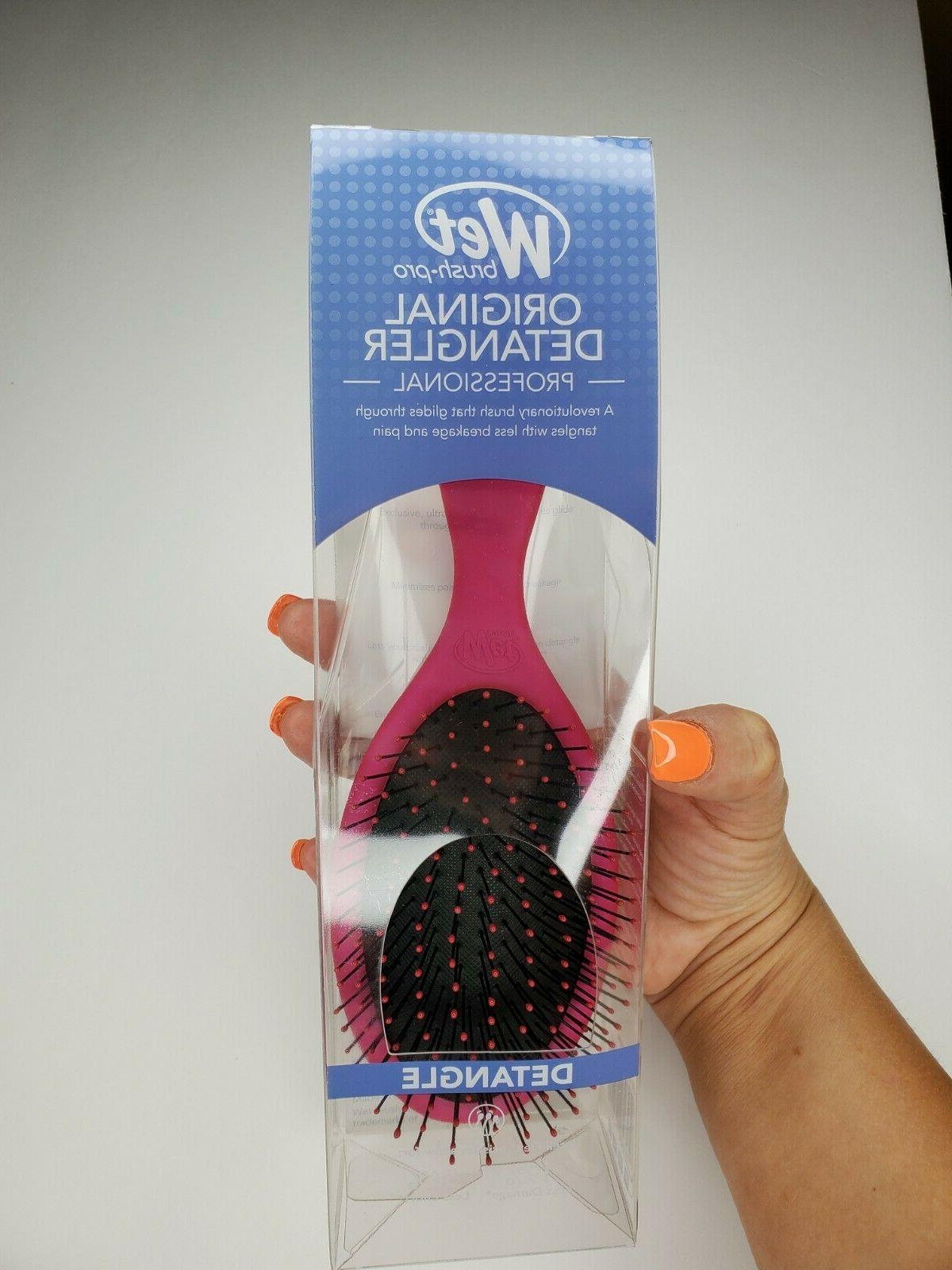 pro original detangler hair brush with intelliflex