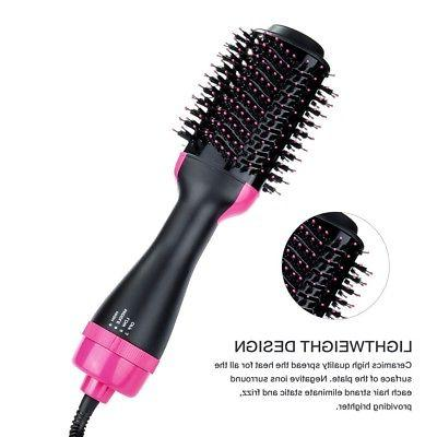 Professional Hair Dryer 2 In Straightener Comb Comb