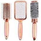 Lily England Rose Gold Hair Brush Set - Luxury Professional