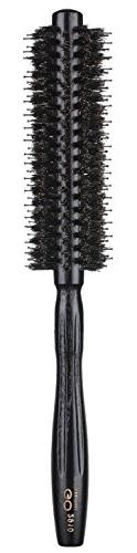 Round Brush with Natural Boar and Nylon Bristles, Small Volu