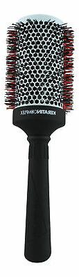 Keratin Complex Round Brush with Thermal Comb 3.5 inch. Hair