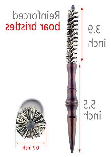 Small for Hair, Boar Blow Drying - Inch