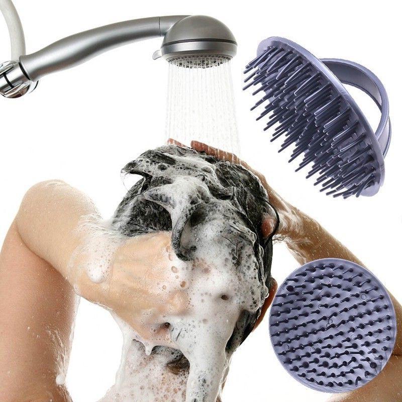 scalp massage hair brush comb shampoo massager