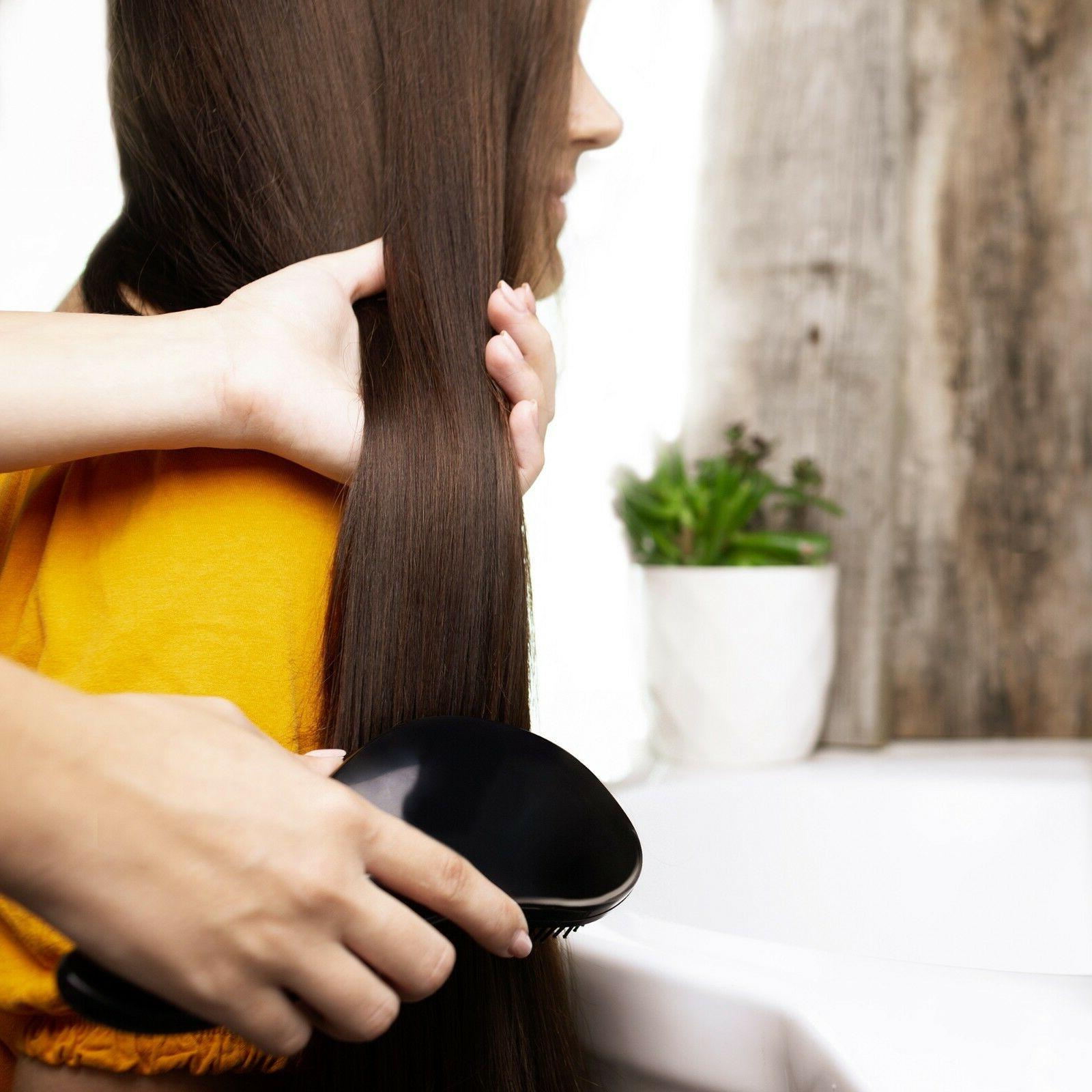 Set Detangler Comb Beauty Detangling Brush &