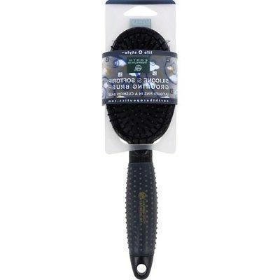 silicon hair brush