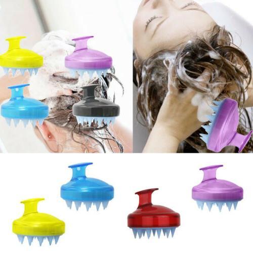 Silicone Shampoo Scalp Body Massager Comb