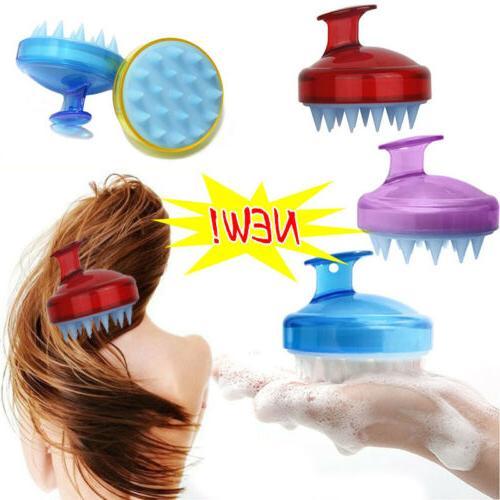 Silicone Massager Brush Comb