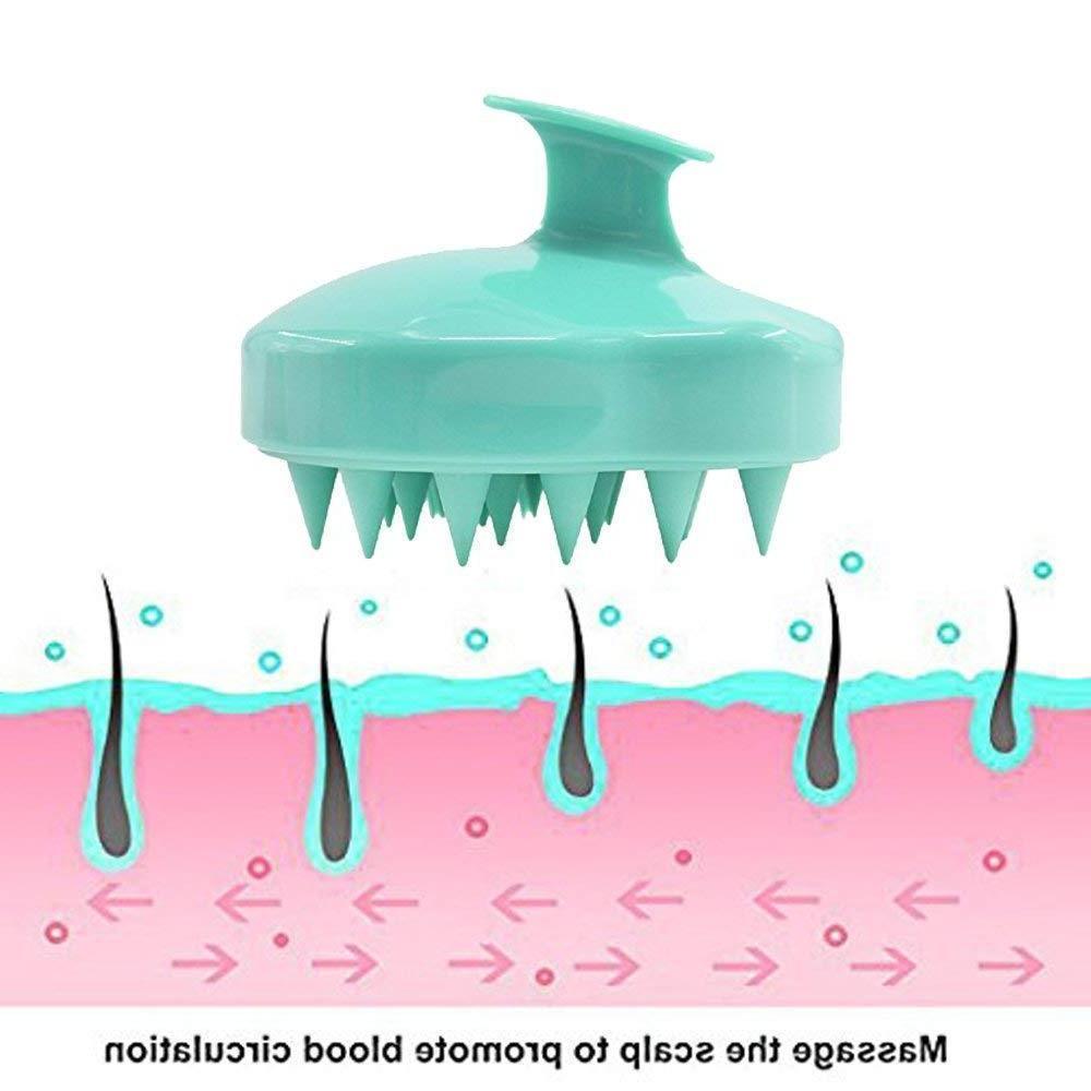 Silicone Shampoo Body Massager Comb