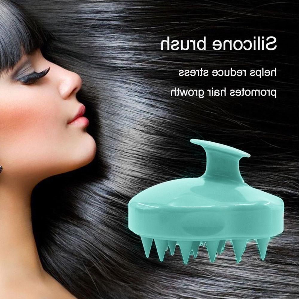 silicone shampoo scalp shower body washing hair