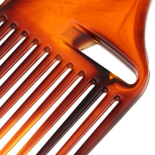 Smooth Oily Hair Pick Comb Salon Afro Hair Brush Comb