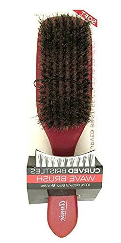Annie Soft Curved Bristles Wave Brush 2340 Red