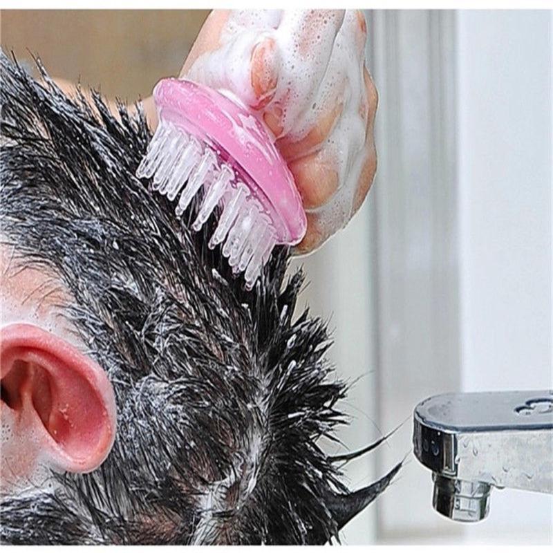 Soft Massage Body Hair Shampoo Scalp Scrubber Hair Care