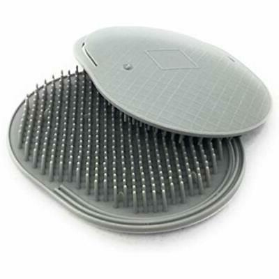 Soft Palm Brush. Massage Head In USA 2-Pack Gray Plus 1