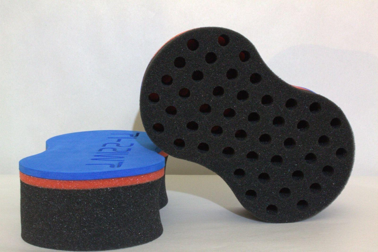 Spin Sponge Brush for Locking Wave