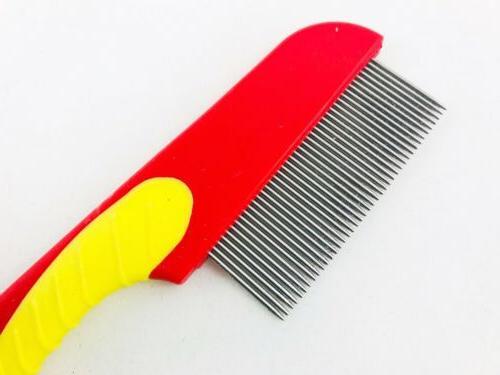 Stainless Lice Comb Brush Ticks De Piojos