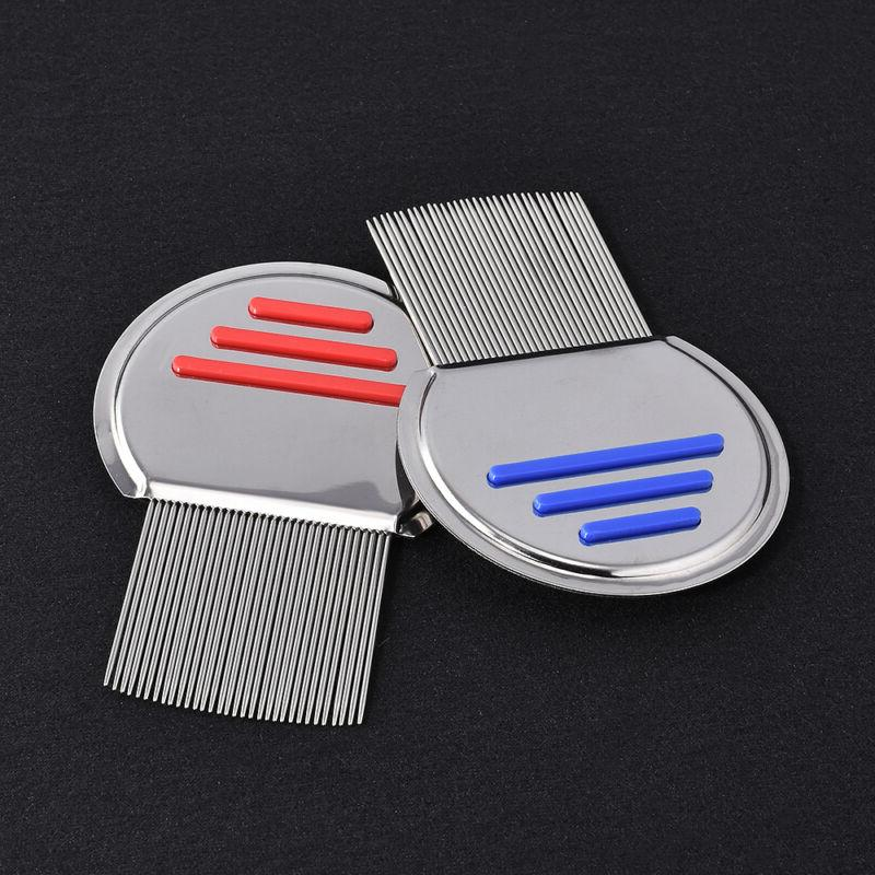 Stainless Hair Comb Brushes Nit Terminator Removal