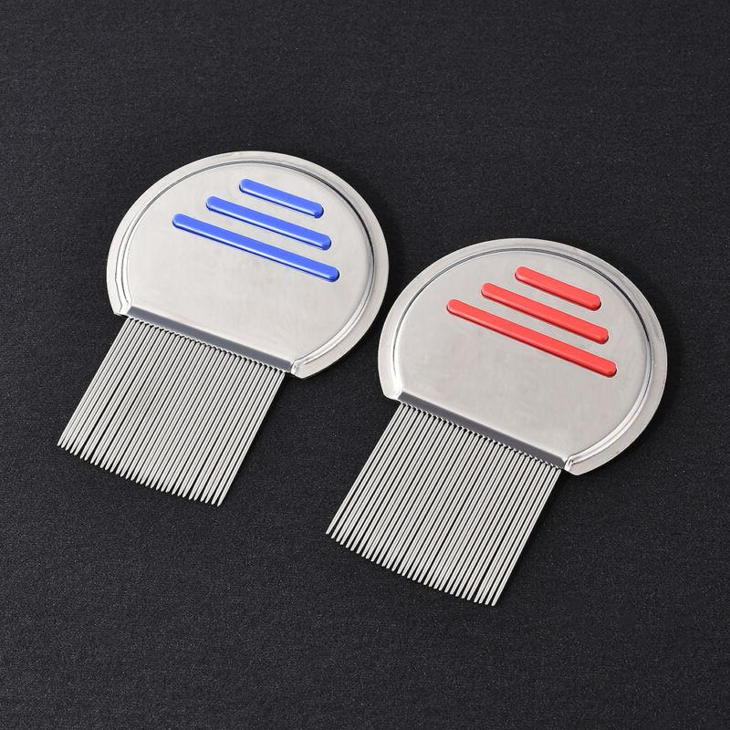 Stainless Hair Comb Brushes Free Terminator Fine Egg Dust Removal