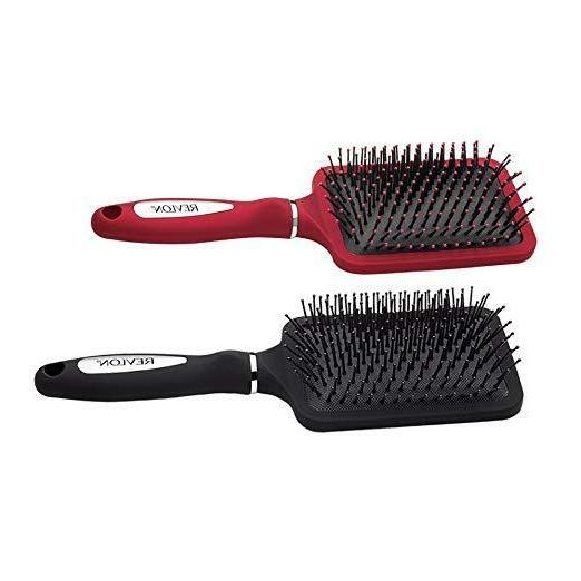 Revlon & Smooth, Soft Brush Black Red