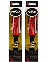 "Denman Styling Hair Brush D3 -7 Row ""Pack of 2"""