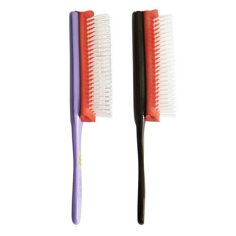 Hair Brush Cushion 9-Row Detangler Curl Dry Hair. SALE*