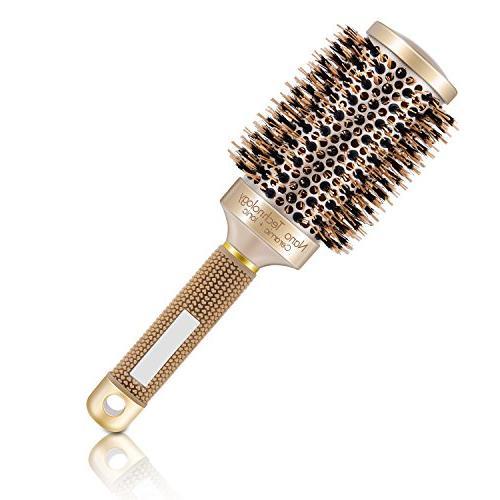 styling round hair brush