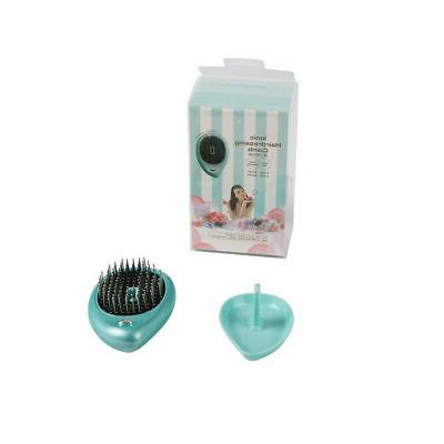 Electric Ionic Hairbrush Mini Hair Comb Massage