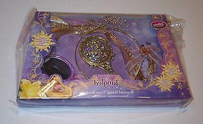 Disney Store Tangled Rapunzel Golden Tresses Set